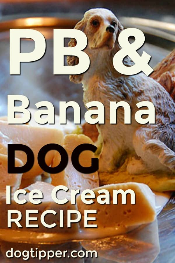 peanut butter and banana dog ice cream recipe