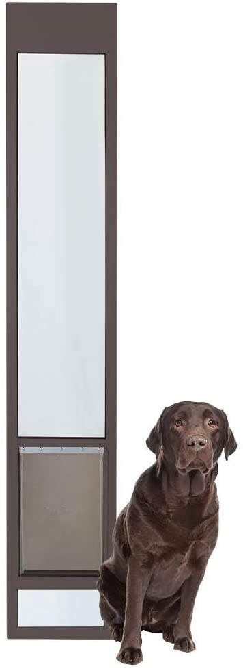 sliding glass door dog door