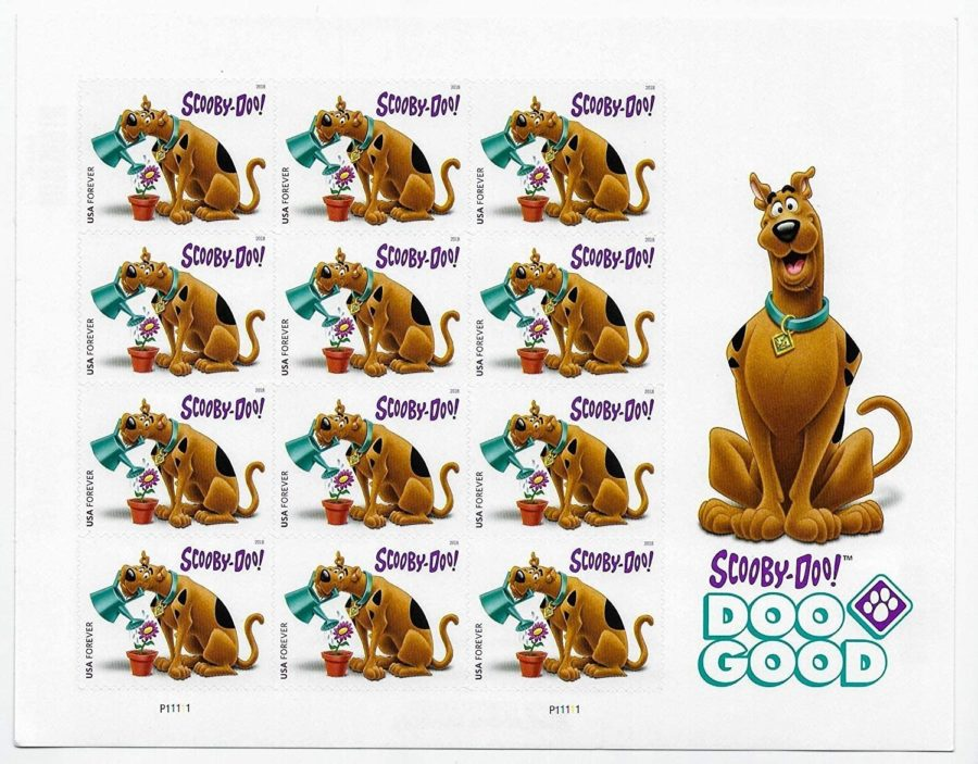 USPS Scooby Doo Forever Stamps